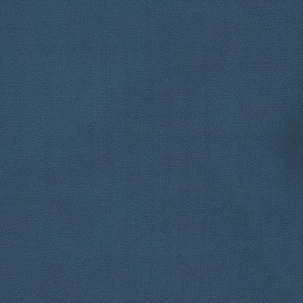 Pat cu picioare negre Vivonita Kent Velvety, 160x200cm, albastru
