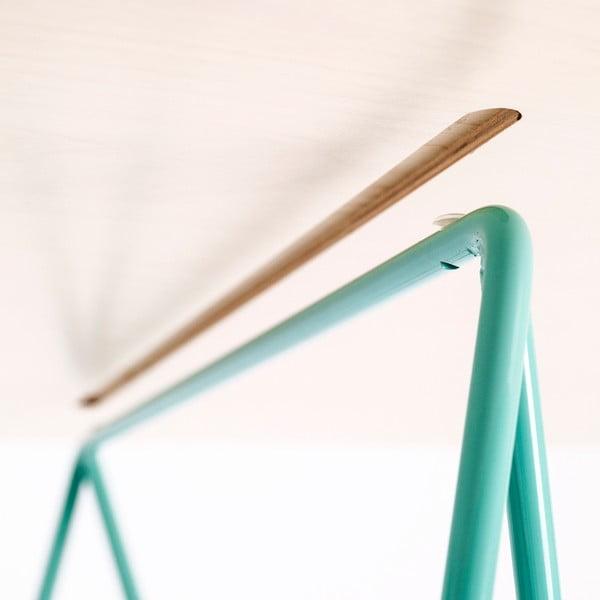 Deska stolu Flat - bělené dřevo, 150x75 cm