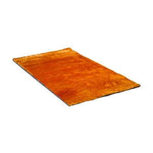 Oranžový koberec Cotex Lightning, 80 x 160 cm