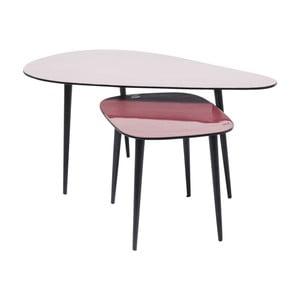 Sada 2 konferenčních stolků Kare Design La Costa