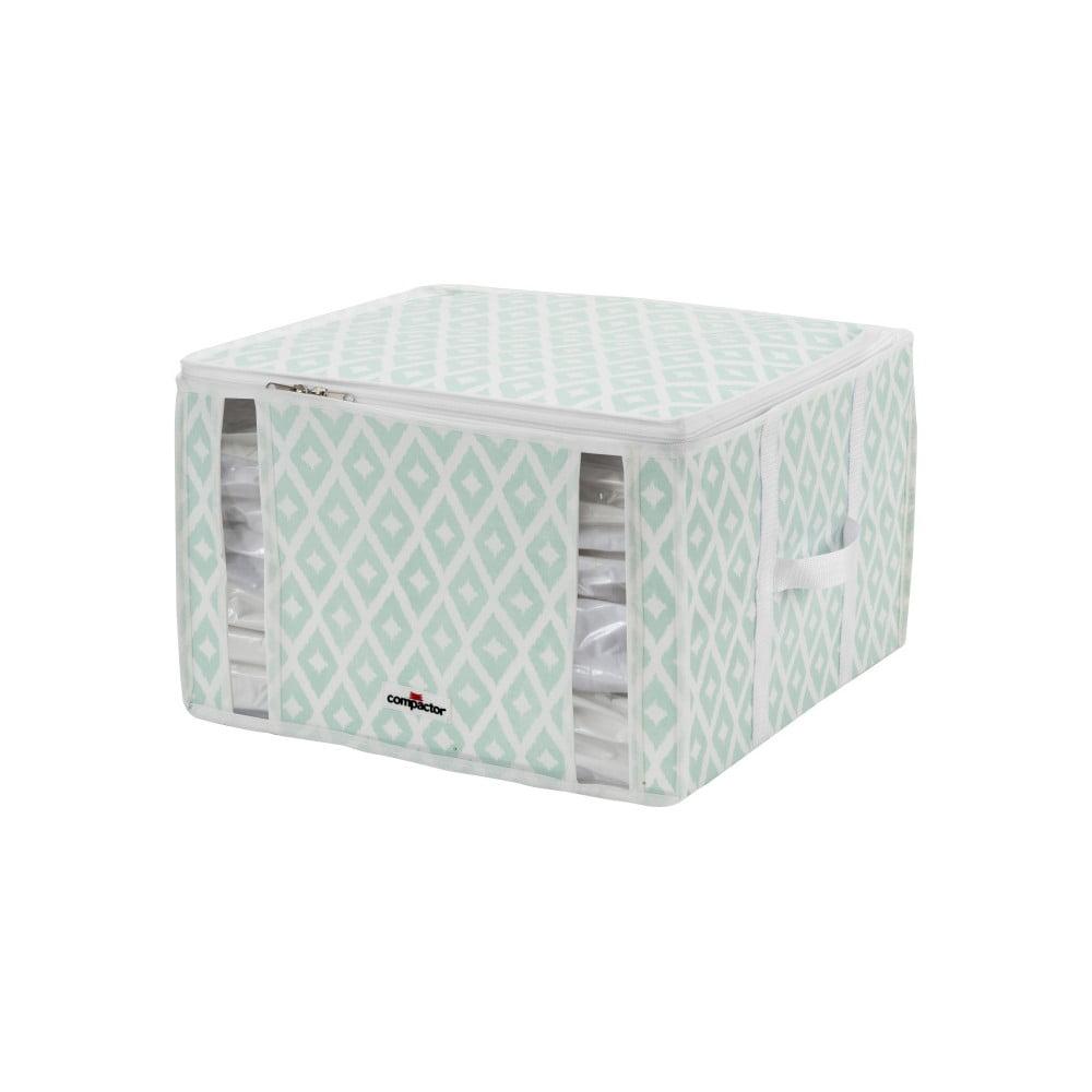 Bílo-zelený úložný box Compactor Compactino