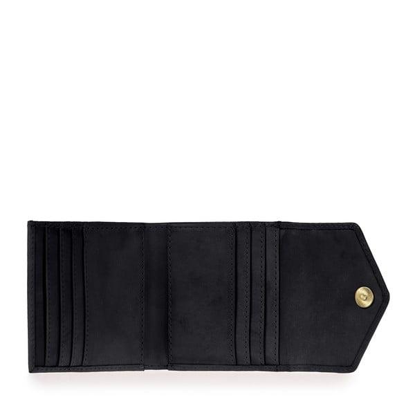 Portofel din piele O My Bag Georgies, negru