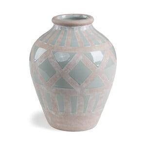 Šedá váza La Forma Arco