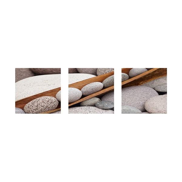 Samolepící obrazy Boat Of Stones, 30x30 cm