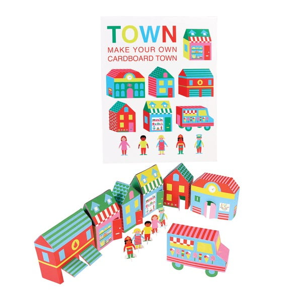 Papírová skládanka Rex London Town