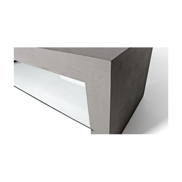 Betonový konferenční stolek Lyon Béton Dawn Glass