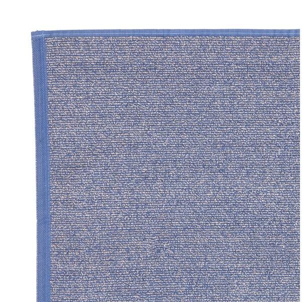 Sada 2 modrých froté ručníků Casa Di Bassi Stripe, 50 x 70 cm