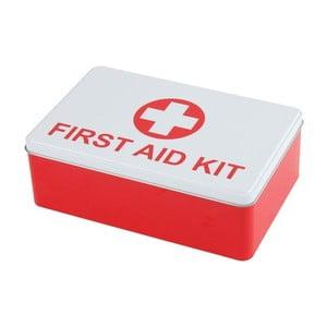 Plechová krabice první pomoci