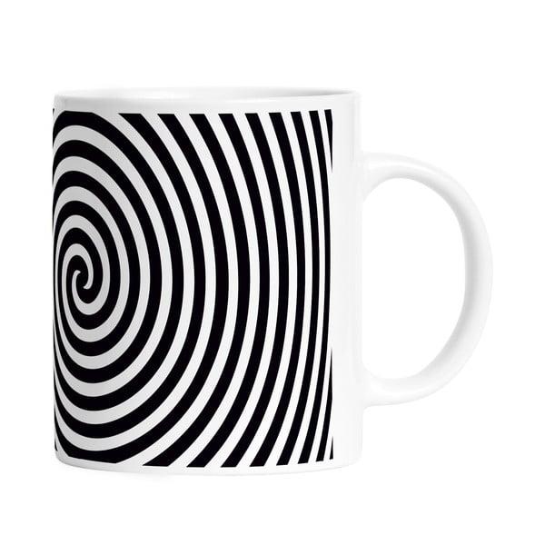 Hrnek Black Shake Circle Hypnosis, 330ml