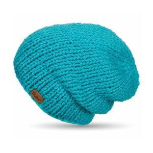 Ručně pletená čepice DOKE Blue Beanie