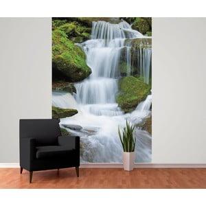 Tapeta Waterfall Deco, 158x232 cm