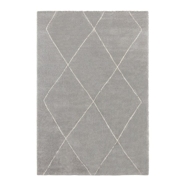 Šedý koberec Elle Decor Glow Massy, 120 x 170 cm