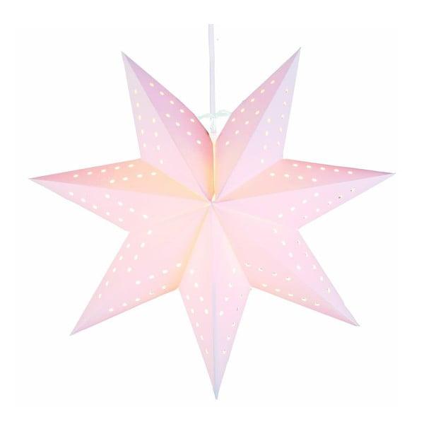 Závěsná svítící hvězda Bobo Beige, 34 cm