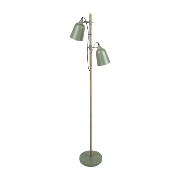Zelená voľne stojacia lampa Leitmotiv Jungle