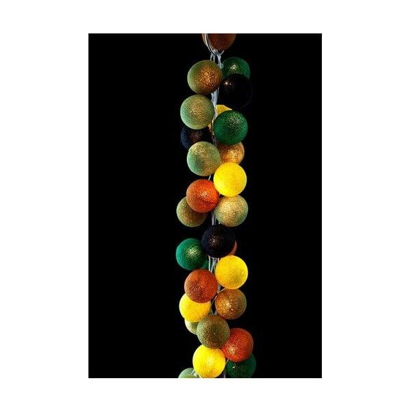 Světelný řetěz Wasabi, 50 ks světýlek