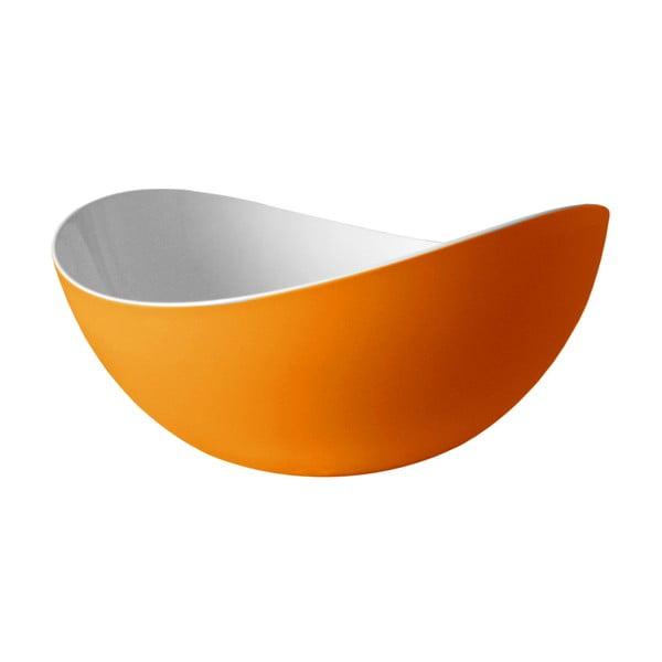 Oranžová salátová mísa Entity, 34 cm