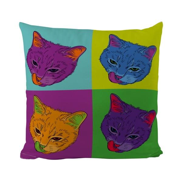 Polštářek Butter Kings Warhol Cats