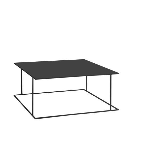 Čierny konferenčný stolík Custom Form Walt, 100 × 100 cm