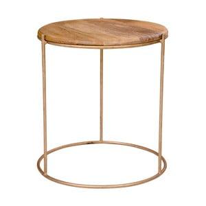 Příruční stolek s deskou z mangového dřeva House Nordic Babur