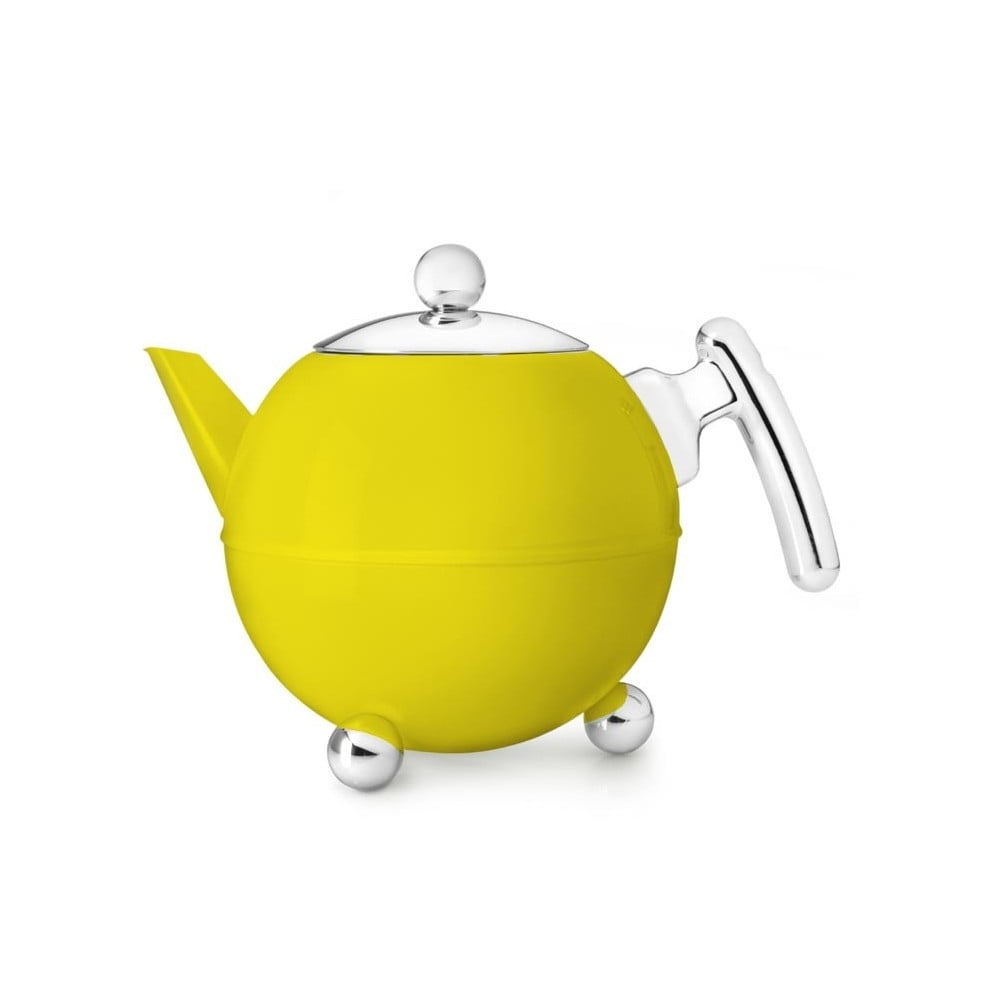 Žlutá konvice na čaj Bredemeijer Bella Ronde, 1,2l