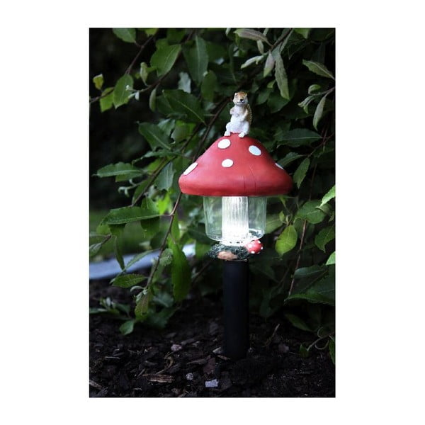 Světelná zahradní dekorace Best Season Mushroom