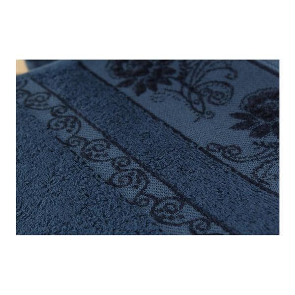 Sada 3 osušek Selen Dark Blue, 50x90 cm