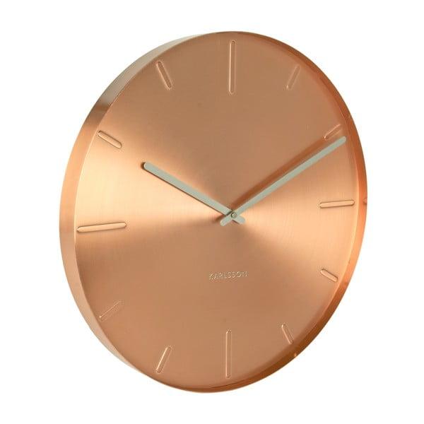 Měděné hodiny Present Time Belt