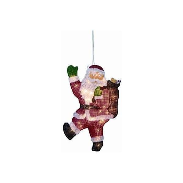 Svítící dekorace Double Santa