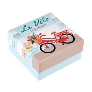 Set 8 suporturi de unică folosință pentru pahare Rex London Le Vélo