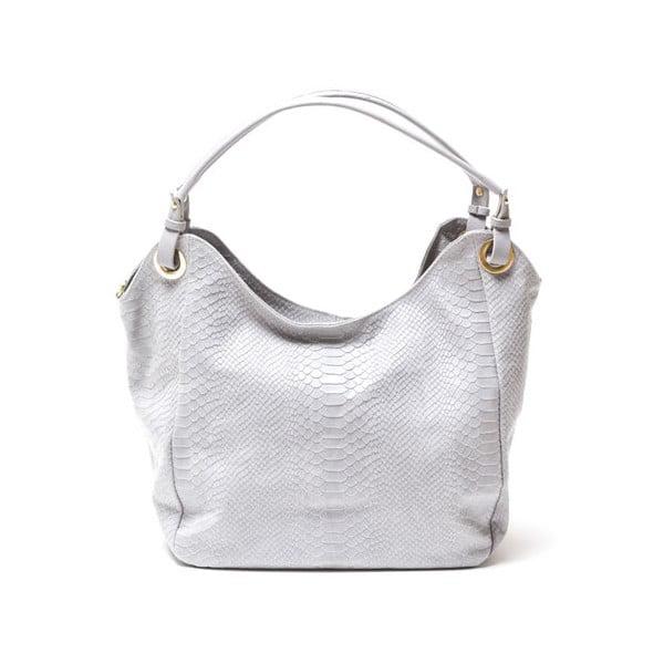 Kožená kabelka Isabella Rhea 8006 Grigio