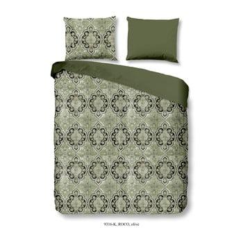 Lenjerie de pat din bumbac satinat Muller Textiels Drumo, 200 x 240 cm