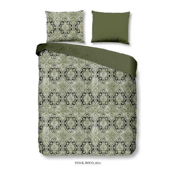 Obliečky na dvojlôžko z bavlneného saténu Muller Textiels Drumo, 200×240 cm