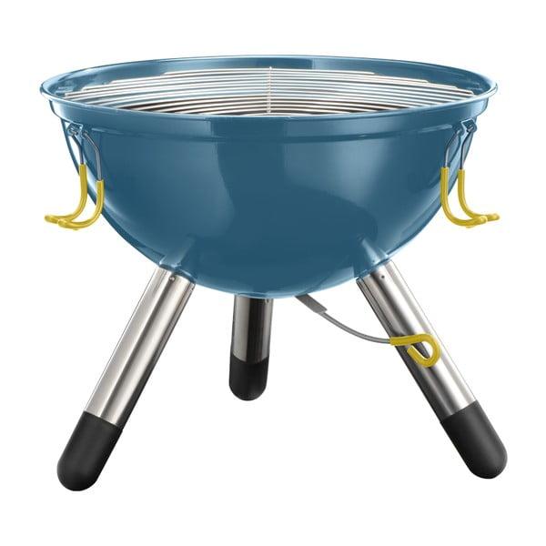 Menší modrý přenosný gril Jamie Oliver