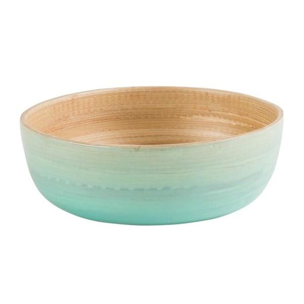 Bambusová mísa Rebu Ombre 25 cm, modrá
