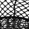 Černá houpací zahradní síť InArt Flowers, 96 x 50 cm