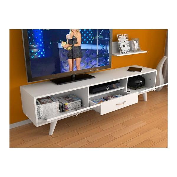 Televizní stolek Milas White