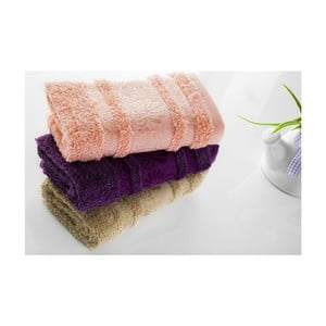 Sada 3ks ručníků Carmen V2, 30x50 cm