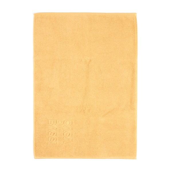 Žlutá bavlněná koupelnová předložka Casa Di Bassi Sun,50x70cm