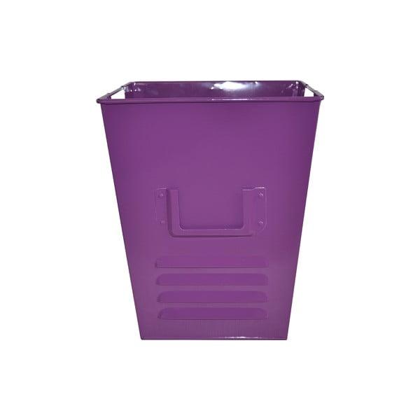 Plechový koš Waterquest 25x30 cm, fialový