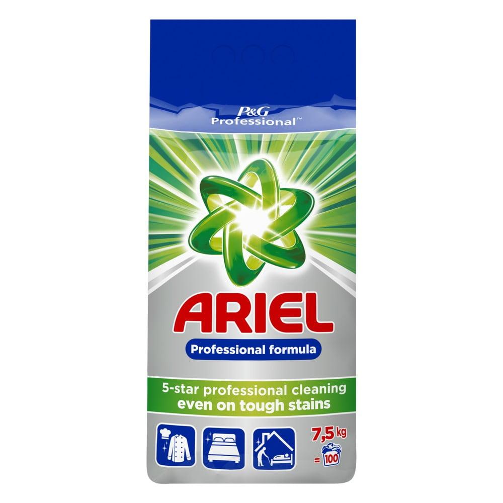Rodinné balení pracího prášku Ariel Regular, 7,5 kg (100 pracích dávek)