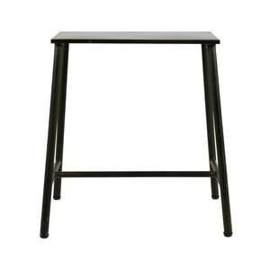 Černá kovová stolička BePureHome Blast, výška 48 cm