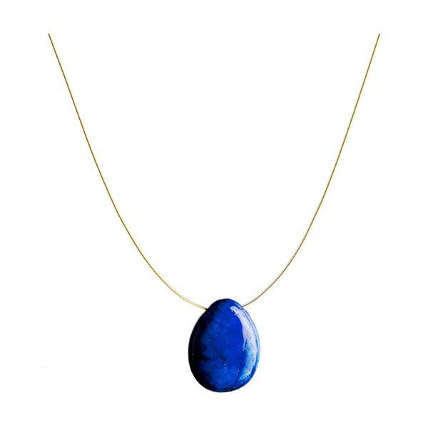 Zlatý náhrdelník Lapis Lazuli