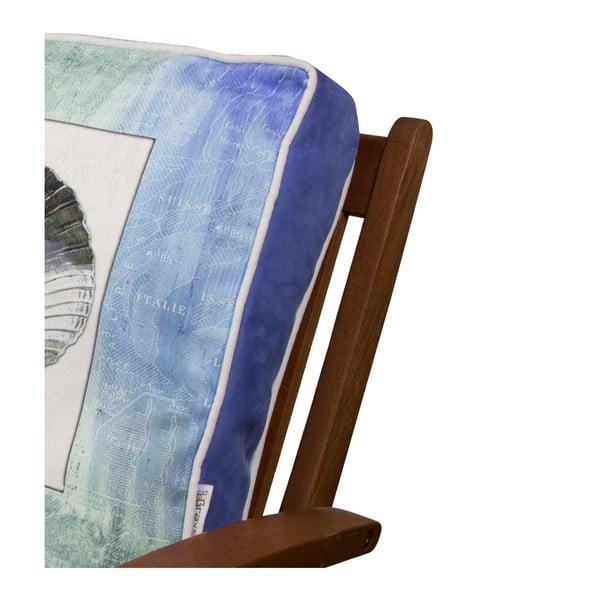 Pernă pentru scaun Gravel Sea Shell I, 42x42cm,cuumplutură