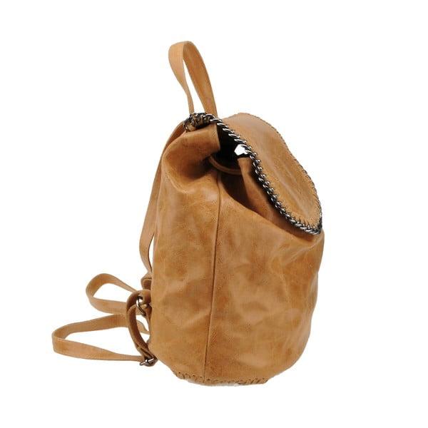Kožený batoh Situla, hnědý