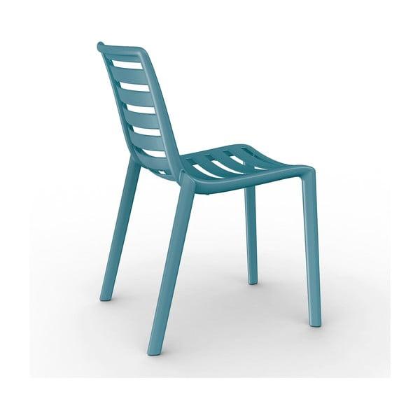 Set 2 scaune de grădină Resol Slatkat, albastru