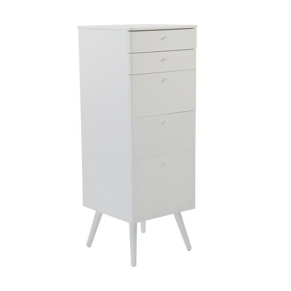 Kancelářské zásuvky Niles, 87x40 cm, bílé