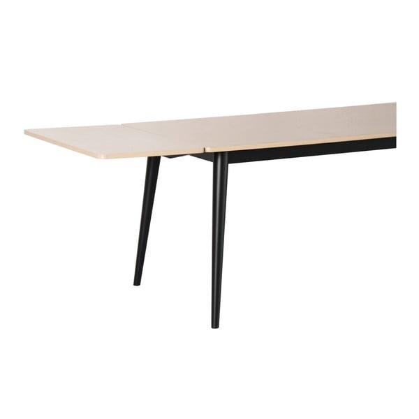 Přídavná deska k jídelnímu stolu Folke Pan ve světlém dubovém dekoru, 45x90cm