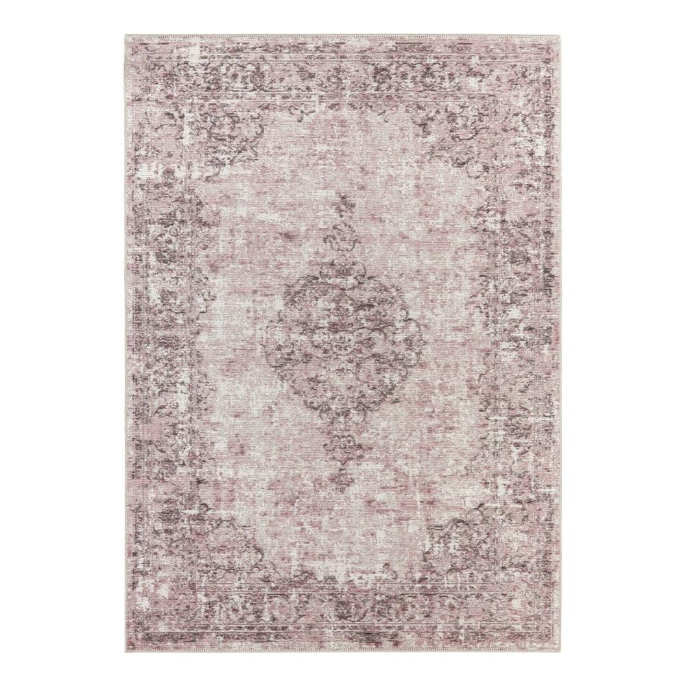 Tmavě růžový koberec Elle Decor Pleasure Vertou, 120 x 170 cm
