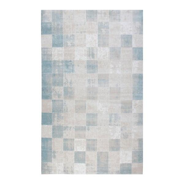 Koberec Mosaic Blue, 200x290 cm