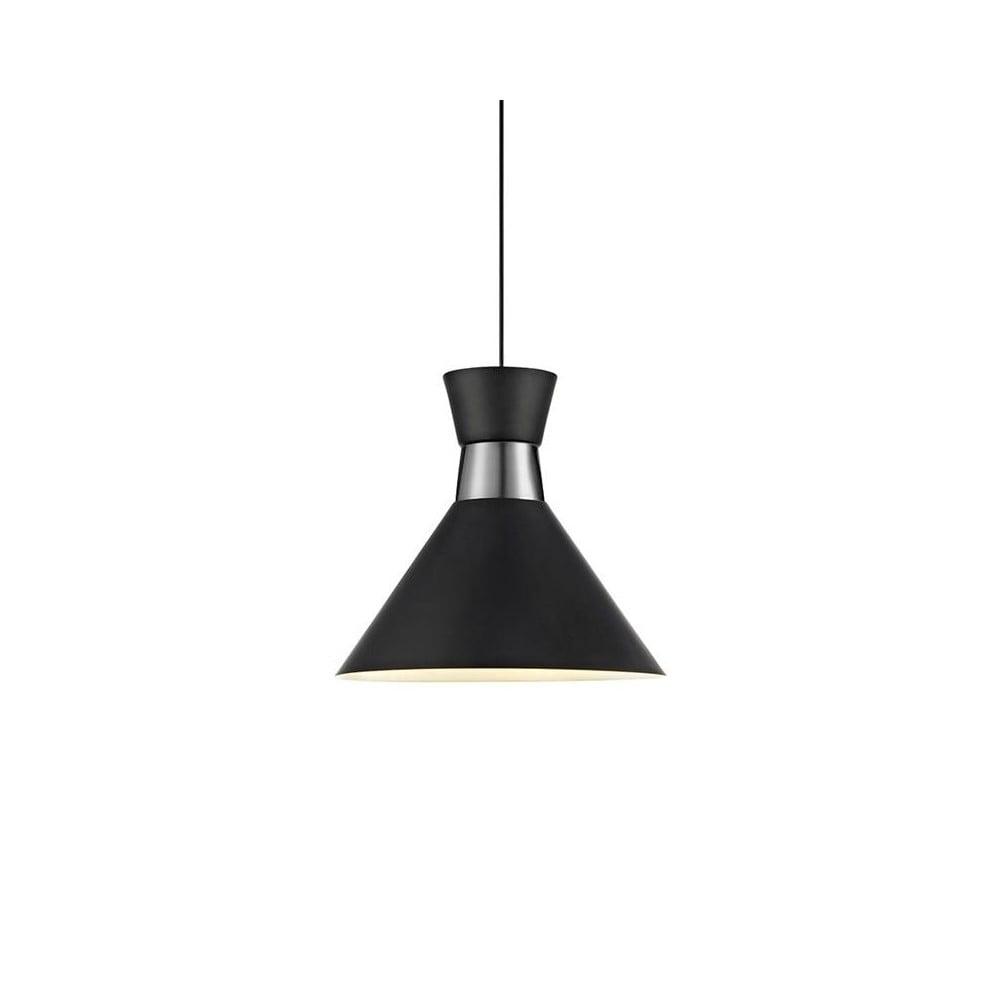 Černé stropní světlo Markslöjd Waist